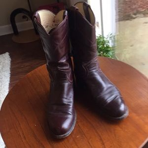 Justin western boots!